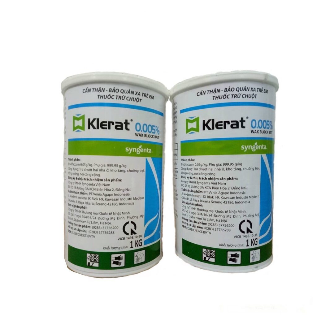 Thuốc diệt chuột Klerat