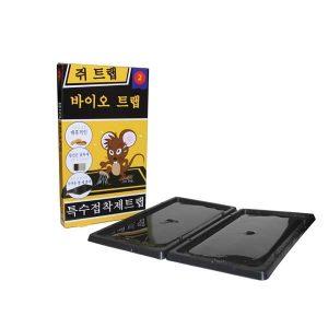 Bẫy dính chuột Biotrap, tấm nhựa mầu đen, Hộp 2 miếng